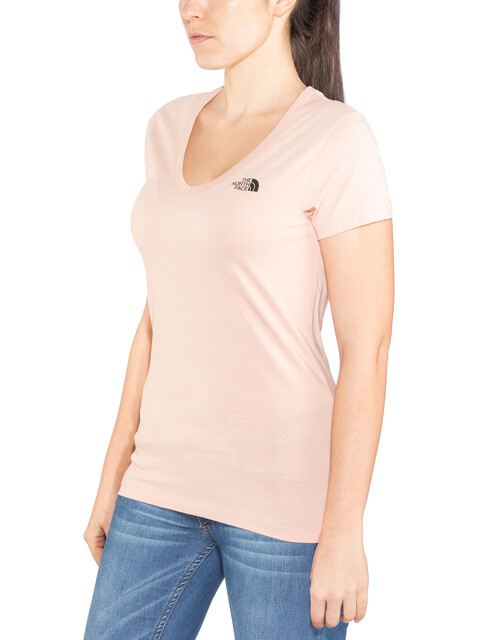 The North Face Simple Dome t-shirt Dames roze